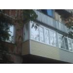 Остекление балконов и лоджий в Железнодорожном