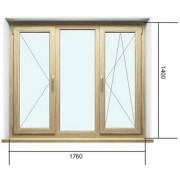 Ламинированные окна Рехау Делайт