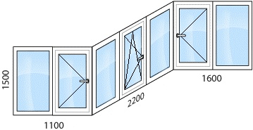 Дом серия п-3 теплое остекление балкона.